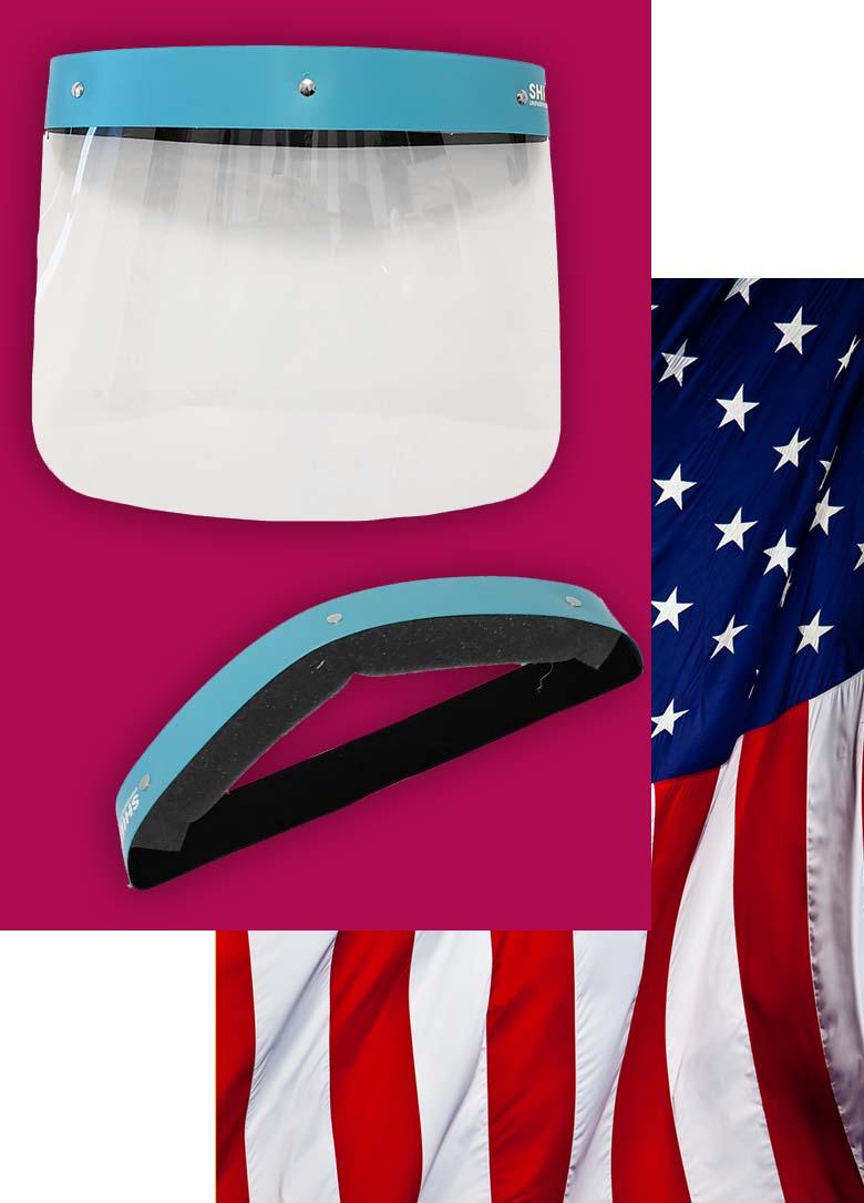 Faceshield USA Face shield Comfort band