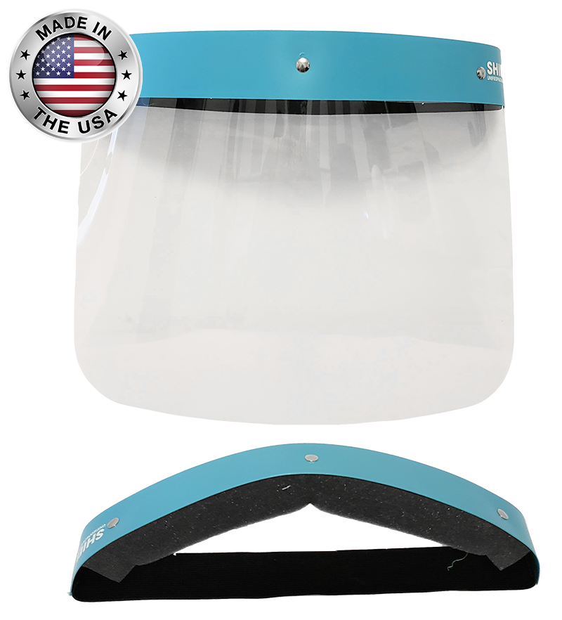 Face-shield-Dental-PPE- Made in the USA