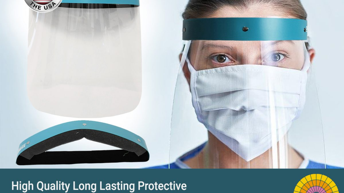 Protective-RPET face shields