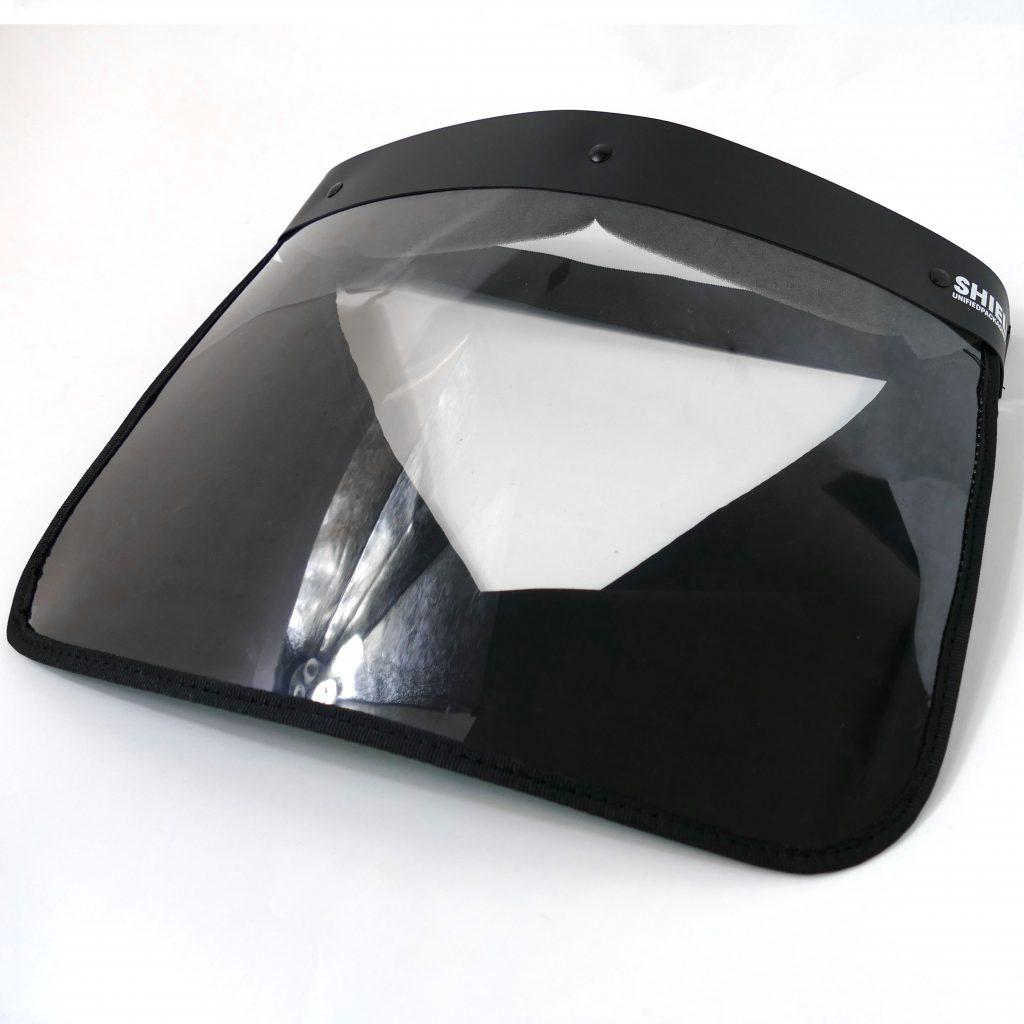 Black Unified Full Face Shield