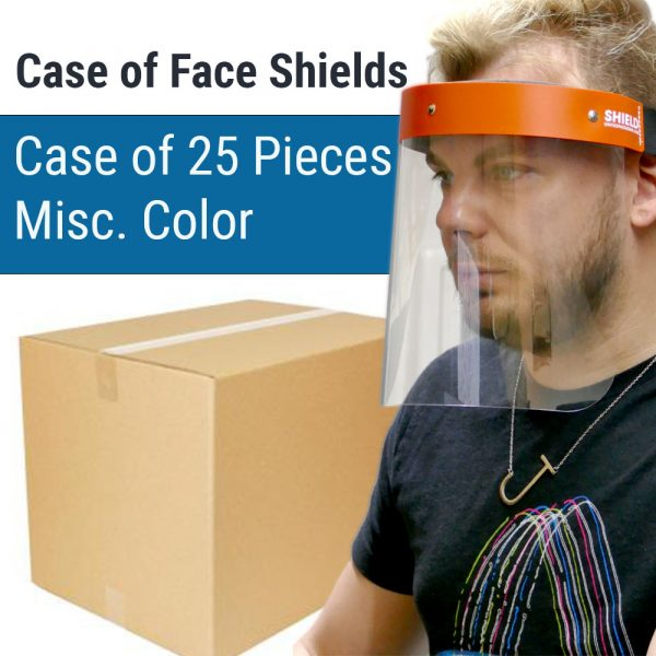 Wholesale Face Shields Case of 25