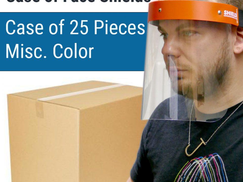 Wholesale Face Shields Case of 25
